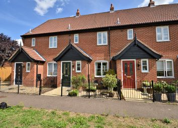 Thumbnail 2 bed terraced house for sale in Holly Close, Dereham