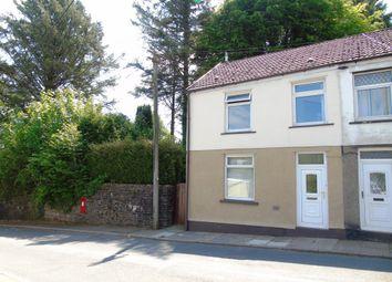 Thumbnail 2 bed semi-detached house for sale in Heol Y Mynach, Ynysybwl, Pontypridd