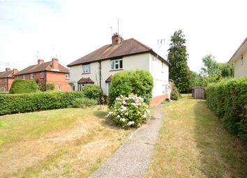 Thumbnail 3 bedroom semi-detached house for sale in Trowes Lane, Swallowfield, Reading