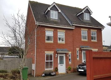 Thumbnail 3 bed town house to rent in Youghal Close, Pontprennau, Cardiff