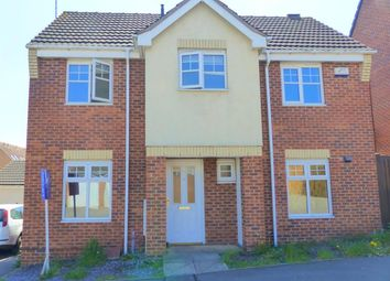 Thumbnail 3 bed detached house to rent in Curbar Close, Mansfield