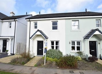 Thumbnail 3 bed semi-detached house for sale in Rowan Road, Wadebridge, Cornwall