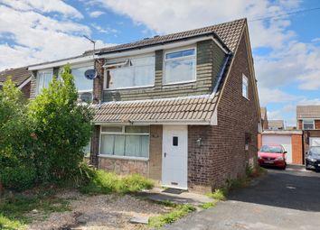 Thumbnail 3 bed semi-detached house for sale in Heversham Avenue, Preston, Fulwood