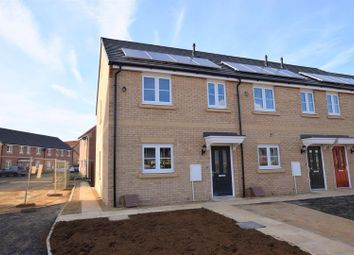 Thumbnail 3 bed terraced house for sale in Hetterley Drive, Barleythorpe, Oakham