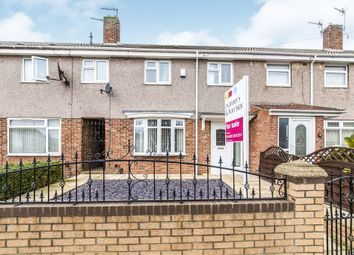 Thumbnail 3 bed terraced house for sale in Garrick Grove, Hartlepool