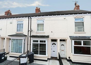 Thumbnail 2 bed terraced house for sale in Clive Vale, Estcourt Street, Hull