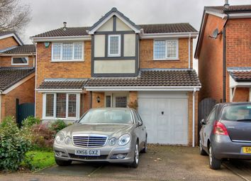Thumbnail 4 bedroom detached house for sale in Hedge Road, Hugglescote, Coalville