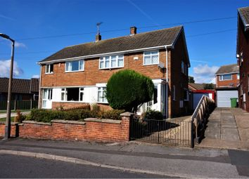 Thumbnail 3 bed semi-detached house for sale in Meadow Road, Mansfield