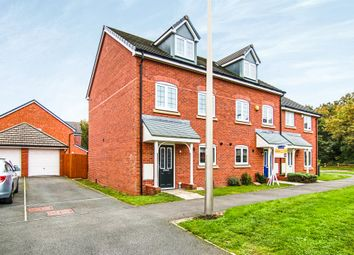 Thumbnail 3 bed town house for sale in Jacks Wood Avenue, Ellesmere Port