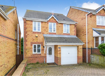 Thumbnail 3 bed detached house for sale in Holm Hill Gardens, Easington Village, Peterlee