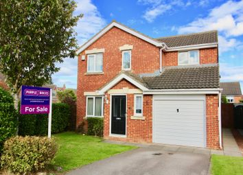 Thumbnail 3 bed detached house for sale in Kestrel Close, Hartlepool