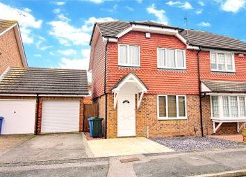 Thumbnail 3 bed semi-detached house for sale in Vaughan Drive, Kemsley, Sittingbourne