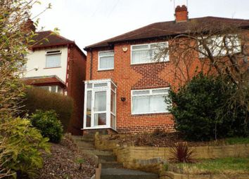 Thumbnail 3 bed semi-detached house to rent in Woodleigh Avenue, Harborne, Birmingham