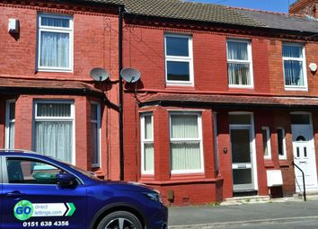 Thumbnail 3 bed terraced house to rent in Exeter Road, Wallasey