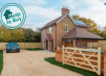 Thumbnail 4 bed detached house for sale in Upham, Torbay Farm, Upham, Hampshire