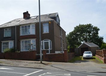 Thumbnail 5 bed semi-detached house for sale in Cockett Road, Swansea