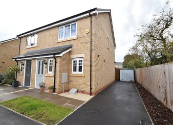 Thumbnail 2 bed semi-detached house for sale in Flax Close, Wychbold, Droitwich Spa, Worcestershire