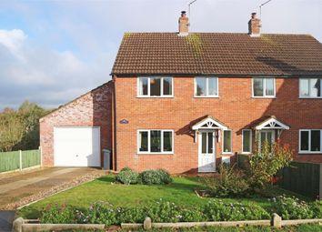Thumbnail 3 bed semi-detached house for sale in Little London, Corpusty, Norwich, Norfolk
