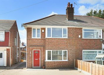 Thumbnail 3 bedroom semi-detached house for sale in Norburn Crescent, Old Basford, Nottingham