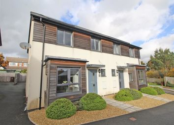 Thumbnail 3 bed semi-detached house for sale in Cobham Close, Glenholt, Plymouth