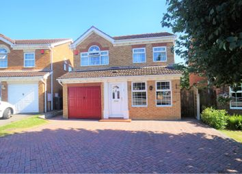 Thumbnail 4 bed detached house for sale in Westcroft Drive, Saxilby