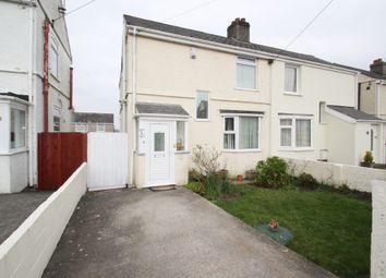 Thumbnail 3 bed semi-detached house for sale in Queens Road, Higher St. Budeaux, Plymouth