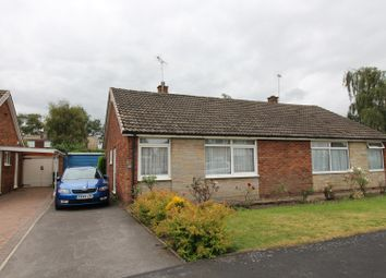 Thumbnail 2 bed semi-detached bungalow for sale in Orchard Way, York