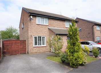 Thumbnail 2 bed semi-detached house for sale in Winslade Close, Hazel Grove