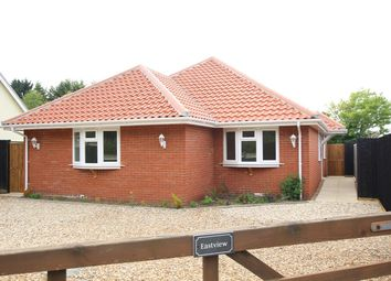 Thumbnail 3 bed detached bungalow for sale in Church Lane, Claydon, Ipswich, Suffolk