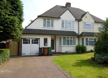 Thumbnail 3 bed property to rent in Egerton Road, Streetly, Sutton Coldfield