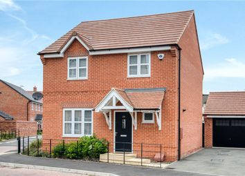 Thumbnail 4 bed detached house for sale in Kingfisher Drive, Southam, Warwickshire