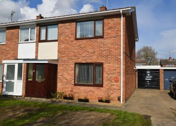 Thumbnail 3 bedroom semi-detached house for sale in Bradden Street, Peterborough