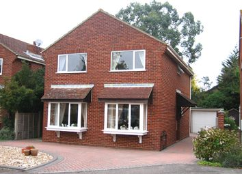 Thumbnail 4 bed detached house to rent in Viking Close, Fareham