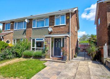 Thumbnail 3 bedroom semi-detached house for sale in Coates Close, Basingstoke