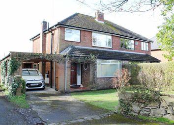 Thumbnail 3 bed semi-detached house for sale in Abbots Lane, Penyffordd, Flintshire