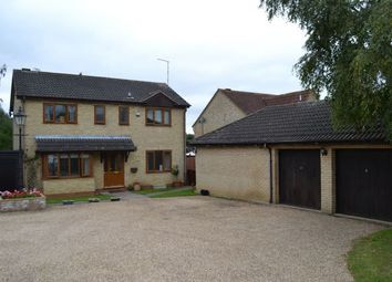 Thumbnail 4 bed detached house for sale in Laneside Hollow, East Hunsbury, Northampton