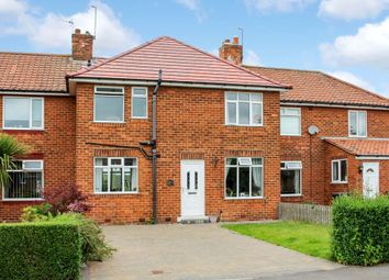 Thumbnail 3 bed terraced house for sale in West End, Strensall, York
