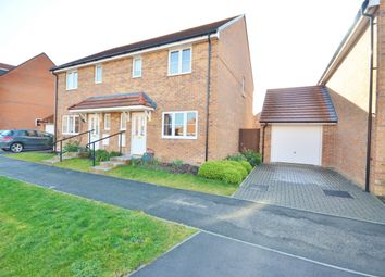 Thumbnail 3 bed semi-detached house for sale in Greenfinch Road, Didcot