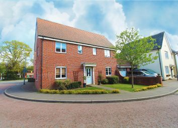 Thumbnail 4 bed detached house for sale in Whitebeam Close, Mile End, Colchester