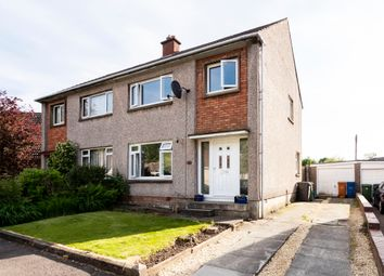 Thumbnail 3 bed semi-detached house for sale in Larkfield Road, Lenzie, Kirkintilloch, Glasgow