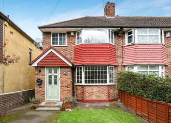 Thumbnail 3 bed end terrace house for sale in Berwick Crescent, Sidcup