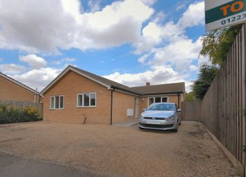 Thumbnail 2 bed detached bungalow to rent in Chapelfield Way, Sawston, Cambridge, Cambridgeshire