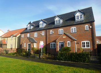 Thumbnail 3 bed terraced house for sale in Davey Close, Sturton By Stow, Lincoln