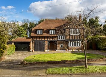 Thumbnail 5 bed detached house for sale in Gilhams Avenue, Banstead