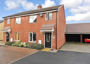 Thumbnail 3 bed semi-detached house for sale in Greenacres Road, Locks Heath, Southampton