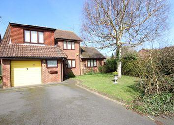 Thumbnail 4 bedroom detached house for sale in Mons Close, Wokingham