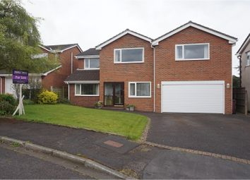 Thumbnail 5 bed detached house for sale in Bosburn Drive, Blackburn