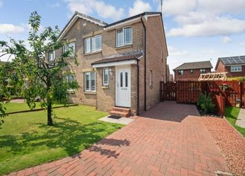 Thumbnail 3 bed semi-detached house for sale in Mary Fisher Crescent, Dumbarton, West Dunbartonshire