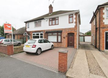 Thumbnail 3 bed semi-detached house for sale in Holmfield Avenue East, Leicester Forest East, Leicester