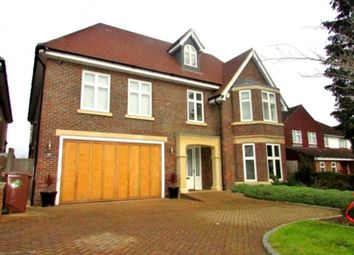 Thumbnail 6 bed detached house to rent in Barham Avenue, Elstree, Borehamwood